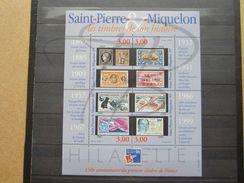 VEND BEAU BLOC FEUILLET DE SAINT-PIERRE ET MIQUELON N° 6 , XX !!! - Blokken & Velletjes