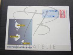 VEND BEL ENTIER POSTAL DE SAINT-PIERRE ET MIQUELON N° 31-E , XX !!! - Postal Stationery