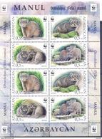 2016. Azerbaijan, WWF, Wild Cat Monul, Sheetlet, Mint/** - Azerbaïjan
