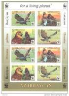2011. Azerbaijan, WWF, Eagle, Sheetlet, Mint/** - Azerbaïjan