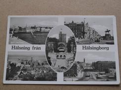Hälsning Fran Hälsingborg ( Hakansson ) Anno 19?? ( Details : Zie Foto´s ) !! - Suède