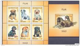 2011. Azerbaijan, Dogs Of Azerbajian, 6v In Sheetlet + S/s, Mint/** - Azerbaïjan