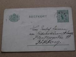 BREFKORT (1112) Anno 1914 ( Details : Zie Foto´s ) !! - Suède