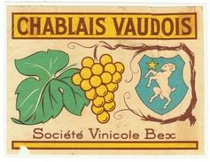 Rare // Chablais Vaudois, Société Vinicole De Bex, Vaud // Suisse - Etiquettes