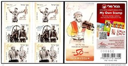 ISRAEL 2014 - Fiddler On The Roof, The Theatre Musical  - A Booklet Of 6 Self-adhesive Stamps - MNH - Teatro