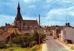 Nouans-les-Fontaines. Le Bourg. Rue Jean Fouquet. - Autres Communes