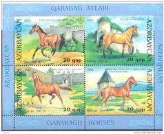 2006.  Azerbaijan, Karabakh Horses, S/s, Mint/** - Azerbaïjan