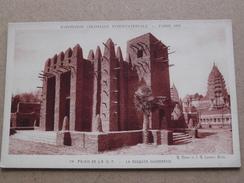 La Mosquée Soudanaise à L'EXPO Coloniale Int. à PARIS 1931 ( Braun ) Anno 1931 ( Details : Zie Foto´s ) !! - Soudan