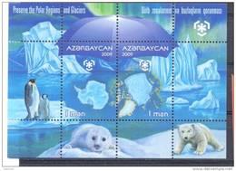 2009. Azerbaijan,  Protect Of Polar Regions & Glaciers, S/s, Mint/** - Azerbaïjan