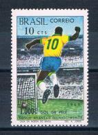 Brasilien 1969 Fußball Mi.Nr. 1238 ** - Brasile