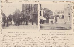 RENNES  Le Procès De Rennes ( Les Abords Du Lycée Le Jour Du Verdict Et La Maison De La Famille DEYFUS Pendant Le Procès - Rennes