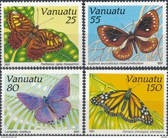 Vanuatu  Butterflies - Vlinders