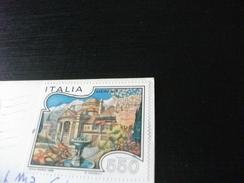 STORIA POSTALE FRANCOBOLLO COMMEMORATIVO MERANO  ITALIA  CATTOLICA PIAZZA NETTUNO NEGOZIO TABACCHI - Italia