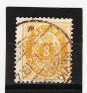 MAG1328  ISLAND 1882  Michl  12 B  Used / Gestempelt  ZÄHNUNG Siehe ABBILDUNG - 1873-1918 Dänische Abhängigkeit
