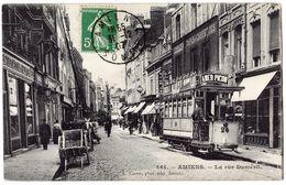 AMIENS - 80 - Rue Dumesnil - Tramway - PUB Amer Picon - Amiens