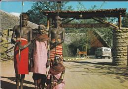 AFRIQUE---RARE---KENYA---samburu Game Lodge-block Hotel--(combi VW Safari )--voir  2 Scans - Kenya