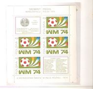 POLSKA POLAND POLONIA  FIFA WORLD CUP 1974 GERMANY 1974 - 1974 – Germania Ovest