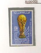 MAROCCO  MAROC FIFA WORLD CUP 1974 GERMANY 1974 - Coppa Del Mondo