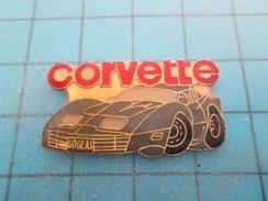 Pin1210 Pin´s Pins : BEAU ET RARE : CHEVROLET CORVETTE  GRISE GOGLAS     Marquage Au Dos : - ---- - - Corvette