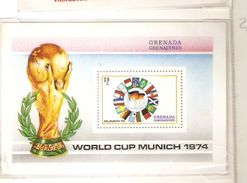 GRENADA GRENADINES FIFA WORLD CUP 1974 GERMANY 1974 - 1974 – Germania Ovest