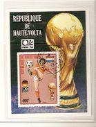 REPUBLIQUE DE HAUTE VOLTA BURKINA FASO   FIFA WORLD CUP 1974 GERMANY 1974 - Coppa Del Mondo