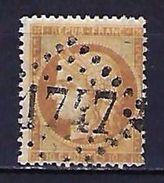 """FR YT 36 """" Cérès 10c. Bistre """" GC 1747 GUISE - 1870 Siege Of Paris"""