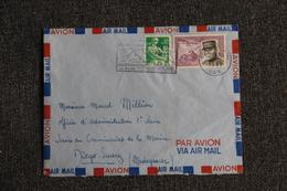 Enveloppe Timbrée De TOULON à DIEGO SUAREZ ( MADAGASCAR). Poste Aérienne. - France