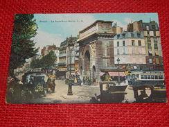 PARIS  -   La Porte Saint-Martin - France