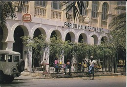 AFRIQUE---RARE--DJIBOUTI--bar Du Palmier En Zinc--voir  2 Scans - Gibuti
