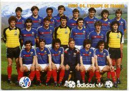 EURO 84 - L'Equipe De France - Football