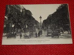 PARIS  -   Le Boulevard Des Capucines Et L'Olympia - France