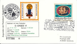 Austria Balloonflight Cover CHRISTKINDL 5-12-1987 - Ballonpost