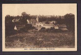 CPSM 76 - ROUELLES - Vue Générale - TB PLAN D'ensemble Du Village + Jolie Oblitération Verso - France
