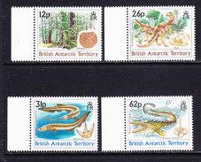British Antarctic Territory 1991 Dinosaurs 4v (+margin) ** Mnh (36782A) - Ongebruikt