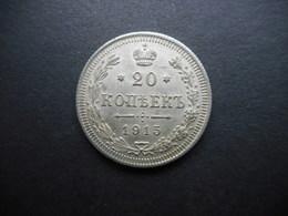 Russia-Empire 20 Kopeks 1915 Nikolai II - Russia
