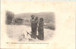 AFRIQUE --  SOMALIE- Femme Gallas Sur La Route Des Caravanes - Somalie