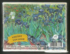 Vincent Van Gogh, Playing Cards, Piatnik, Austria, New, Sealed, 2 Decks - Playing Cards (classic)