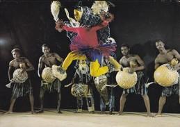 AFRIQUE---COTE D'IVOIRE---folklore--les Compagnons D'AKATI-WAFOU---voir  2 Scans - Côte-d'Ivoire
