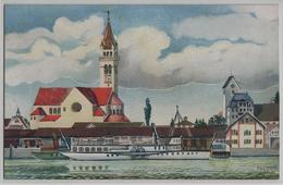 Romanshorn - Katholische Kirche - Künstlerkarte H. Lehmann - TG Thurgovie