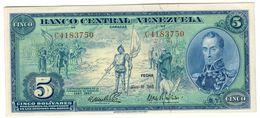 Venezuela 5 Bolivares 10/05/1966 Commemorative UNC/UNC- - Venezuela