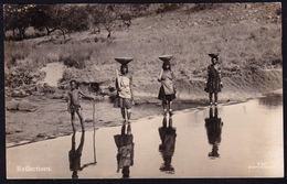 OLD SAPSCO REAL PHOTOCARD SOUTH AFRICA ** REFLECTIONS - NATIVE WOMEN ** AS NEW !! - Afrique Du Sud