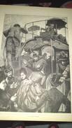 """Affiche (dessin) -  """" A Un Bureau D'omnibus """" """"LA BASTILLE """" - Afiches"""