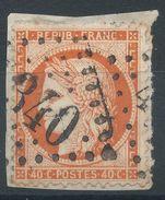 Lot N°36764  N°38/fragment, Oblit GC 4340 WASSY (50), Ind 3 - 1870 Siege Of Paris