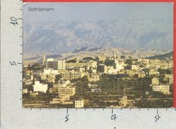 CARTOLINA VG PALESTINA - BETHLEEM - BETLEMME - Panorama - Vue Partielle - 12 X 17 - ANN. 1993 - Palestina