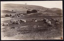 OLD REAL PHOTOCARD SOUTH AFRICA ** HUTS ** VERY NICE !! - Afrique Du Sud