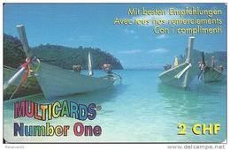Prepaid: Multicards Number One, Mit Besten Empfehlungen, Boote - Suisse