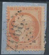 Lot N°36771  N°38/fragment, Oblit GC 3997 TOURS (36) - 1870 Beleg Van Parijs