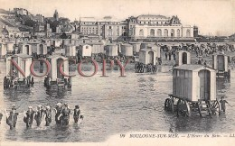 (62) Boulogne Sur Mer - L'Heure Du Bain - Pas De Calais - 1919 - Boulogne Sur Mer