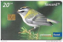 Swisscom:  CP-168 Swisscom Supports WWF - Sommergoldhähnchen. GM 5, GM - Suisse