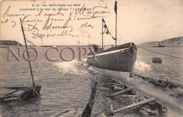 """(62) Boulogne Sur Mer - Lancement à La Mer Du Dundee """" La Curieuse """" - Pas De Calais - Boulogne Sur Mer"""